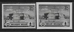 Belgique N°  537A / 537B  **  Perforés  -- Cote : ... €