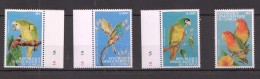 OO269 DU CONGO FAUNA BIRDS 1SET MNH
