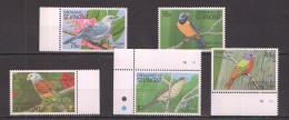 OO283 GRENADINES OF ST.VINCENT FAUNA BIRDS 1SET MNH