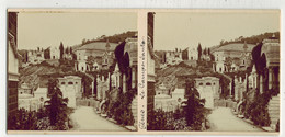 Année 1900 ITALIE GENOA GÊNES : Le CAMPO SANTO - PHOTO STÉRÉOSCOPIQUE STEREO STEREOVIEW - Stereoscoop