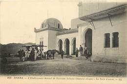 Pays Div-ref H771- Algerie - Biskra -etablissement Thermal De Hamman Solhalin -fontaine Chaude  - Carte Bon Etat  -