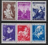 Belgique N°  792 / 797  **     -- Cote : 320  €