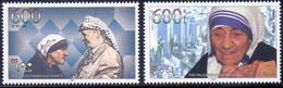 1997 Palestinian Mother Teresa  Set 2 Values MNH - Palestine