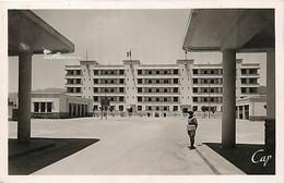 Pays Div-ref H762- Algerie - Militaires Militaria -casernes -caserne Des Gardes Mobiles A Bone -annaba  - - Annaba (Bône)