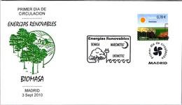 ENERGIAS RENOVABLES - BIOMASA. RENEWABLE ENERGIES - BIOMASS. SPD/FDC Madrid 2010