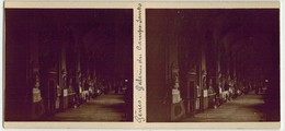 Année 1900 ITALIE GENOA GÊNES : Galeries Du CAMPO SANTO - PHOTO STÉRÉOSCOPIQUE STEREO STEREOVIEW - Lieu Pieux - Stereoscopio