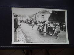 Carval, Procesion, Rue De La Poste, écoles, Monuments  Aux Morts Tirage Jules Petits Fils - Cirey Sur Vezouze