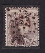 Belgique - COB G14 Obl. 252 Mons Guillochin