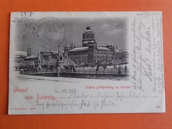 CPA GRUSS / LEIPZIG /POUR LES U.S.A / 1898 - Germania
