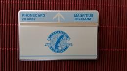 Landis & Gyr Mauritius 20 Units  502 B (mint,Neuve) Rare - Mauritius