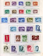 28 Timbres De Hongrie