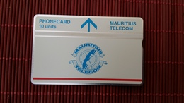 Landis & Gyr Mauritius 10 Units  410 A (Mint,Neuve) Rare! - Maurice