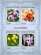 Guinea. 2017 Orchids. (120a)