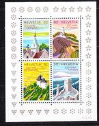 Switzerland 1987 Tourism M/s ** Mnh (35756)