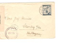 Österreich Brief Villarch 1946 Censored Twice To POW - KG Starnberg A/See PR4628 - 1945-60 Covers