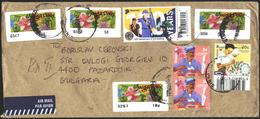 Mailed Cover With Stamps Scouts 2017, Flowers,Vanishing Trades From Singapore