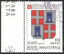 Used Stamp Coat Of Arms 1979 Ordine Di Malta Poste Magistrali