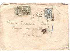 Espana-Spain Registered Cover 1913 To Belgium  PR4629 - 1889-1931 Reino: Alfonso XIII
