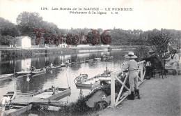 94 - Le Perreux Sur Marne - Les Bords De La Marne - Pêcheurs à La Ligne - Le Perreux Sur Marne