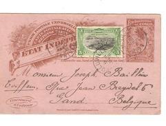 Belgisch Congo Belge Entier CP 10c+TP écrite De Jangula ? En 1906 C.Léo 9/6/1906 V.Gand C.d'arrivée PR4630 - Entiers Postaux