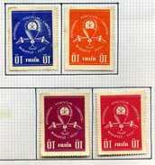 4 Timbres De Hongrie (Vignettes)