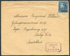 1940 Belgium POW, Kriegsgefangenenpost Censor Cover - Stalag 11A Altengrabow, Germany - Belgium