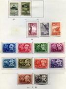 22 Timbres De Hongrie (Poste Aérienne)