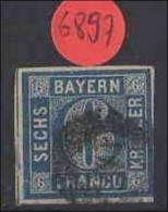 Bayern  Gestempelt   MiNr. 10 - Bavaria