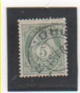 NORVEGE 1883-90 YT N° 38