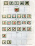 27 Timbres De Hongrie (Taxe) - Impuestos