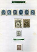 10 Timbres De Hongrie (Télégraphe & Epargne) - Télégraphes