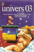 J'ai Lu, Univers N° 03, Décembre 1975 (TBE) - J'ai Lu