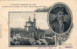 [DC9038] CPA - CRESCENTINO (VERCELLI) - MASTRO SERRA - CAMPANILE TRASPORTATO NEL 1776 - Viaggiata 1904 - Old Postcard - Vercelli