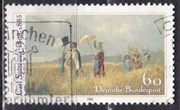 Germania, 1985 - 60pf The Sunday Walk - Nr.1448 Usato°