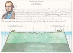 Cocos (Keeling) Islands SG 78 MS 1981 150th Anniversary Charles Darwin Voyage Miniature Sheet MNH - Cocos (Keeling) Islands