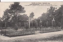 Cp , MILITARIA , Bataille De La Marne, Sept. 14 , FÈRE-CHAMPENOISE , Tombe Route De Normée - War 1914-18