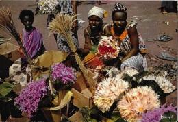 Marchandes De Fleurs ** Belle Carte Animée Neutre ** Editions Iris N°3641 - Cartoline