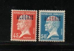 ALGERIE     NEUF Sans Charniere     N°  22/23    N**     1925 - Neufs