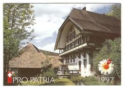 PRO PATRIA 1997 9a Obl. 1er Jour SBK 40,- CHF - Carnets
