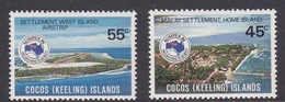 Cocos (Keeling) Islands SG 119-120 1984 Ausipex Stamp Expo MNH Set - Cocos (Keeling) Islands