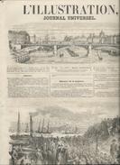L' ILLUSTRATION 648 - 28 JUILLET 1855 RUSSES RUSSIA RUSSIE TOULON SEBASTOPOL CRIMEE CRIMEA. LAVAL CHRIST TOURS CHINON - Journaux - Quotidiens