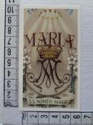 D616 - Santino/Holy Card EB 2/327 Inno Al SS. Nome Di Maria - Santini