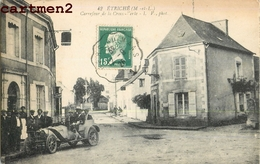 ETRICHE CARREFOUR DE LA CROIX-VERTE VOITURE AUTOMOBILE CAR 49 - Francia