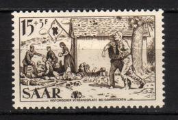 SAAR - 1956 Scott# B108 * - Neufs