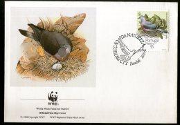 Portugal 1991 WWF Birds Wildlife Animals Nest Egg Sc 150 FDC # 8139 - W.W.F.