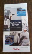 TOYOTA MUSEUM TOKYO JAPAN BROCHURE LEAF 2015,regular Shipping 2$