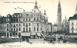 -  ANVERS  -      Belgique     -     Hansa  Huis  Et  Canal   Au  Sucre.         -    T.B.E. - Unclassified