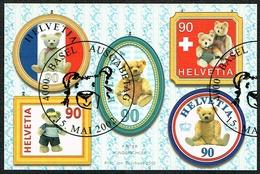 LA SERIE TIMBRES OBLITERES 1er JOUR 2002 C/DES TIMBRES SUISSES Nr:1054/1058 Y&TELLIER Nr:1721/1725. MICHEL Nr:1796/1800.