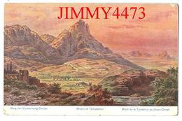 CPA POST CARD - Mont De La Tentation De Jésus Christ Pälestina En 1923 - Edit.C. A. Série 780 N° 61 - Recto-Verso