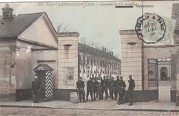 CPA - Saint-Germain-en-Laye - Le Quartier Du 11ème Cuirassier - Voyagée 1906 - FRANCO DE PORT - St. Germain En Laye
